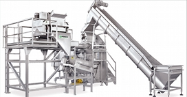 Fruits puree pulp juice preparation infeed